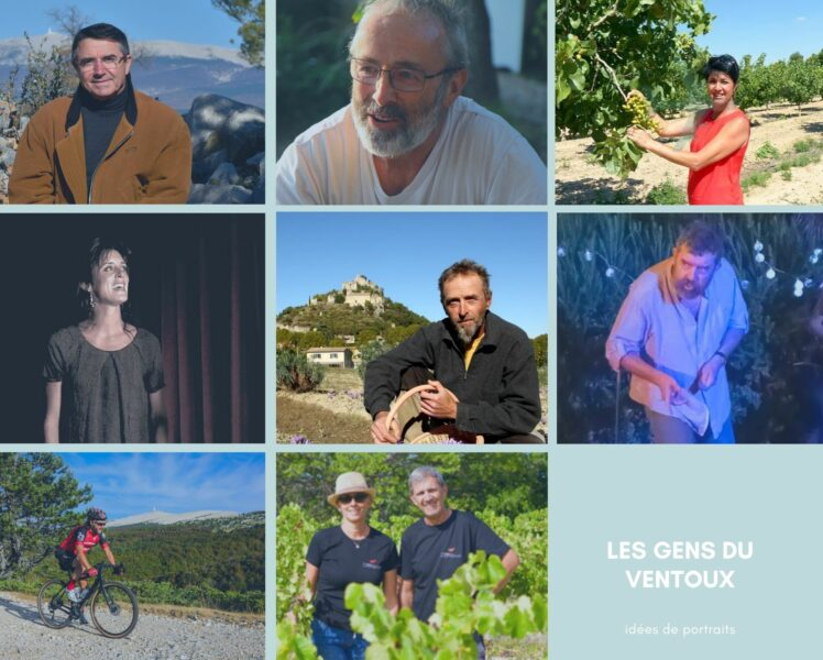 Come and meet the people of the Ventoux area!