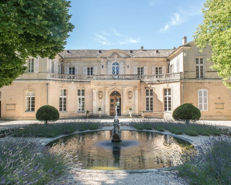 Château Martinay near Carpentras